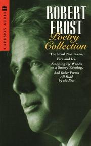 Cover of: Robert Frost Poetry Collection