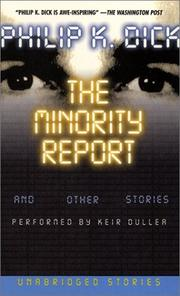 Cover of: The Minority Report and Other Stories