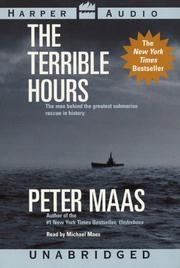 Cover of: Terrible Hours, The | Peter Maas