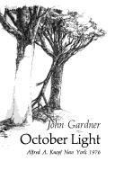 Cover of: October light