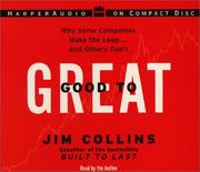 Cover of: Good to Great CD