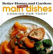 Cover of: 30-minute main dishes