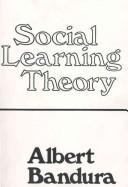 Cover of: Social learning theory