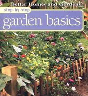 Cover of: Step-by-step garden basics