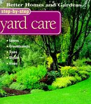 Cover of: Step-By-Step Yard Care
