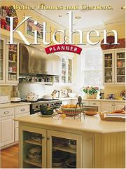 Cover of: Kitchen planner | Paula Marshall
