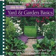Cover of: Step-by-step yard & garden basics