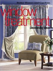 Cover of: Window Treatment Decorating Ideas | Better Homes and Gardens