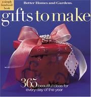 Cover of: Gifts to Make | Better Homes and Gardens