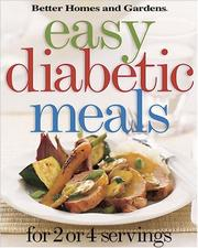 Cover of: Easy diabetic meals |