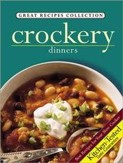Cover of: Crockery Dinners (Great Recipes Collection) | Grand Avenue Books
