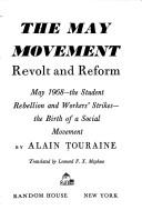Cover of: Mouvement de mai: revolt and reform May 1968-  the student rebellion and workers strikes - the birth of a social movement
