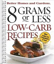 Cover of: 8 Grams or Less Low-Carb Recipes |