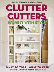 Cover of: Clutter cutters |