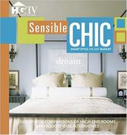 Cover of: Sensible Chic (Home & Garden Television) | HGTV