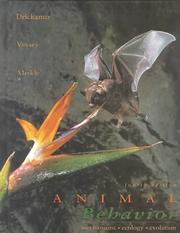 Cover of: Animal behavior