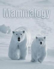 Cover of: Mammalogy | George A. Feldhamer