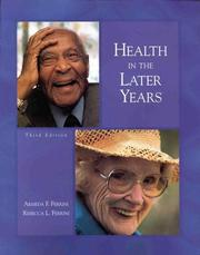 Cover of: Health in the Later Years | Armeda F. Ferrini
