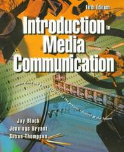 Cover of: Introduction to media communication