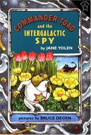 Cover of: Commander Toad and the Intergalactic Spy
