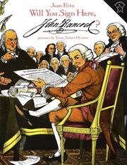 Cover of: Will You Sign Here, John Hancock?