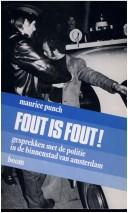 Cover of: Fout is fout