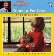 Cover of: When a Pet Dies