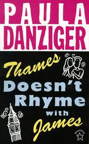 Cover of: Thames Doesn't Rhyme with James (Novel)