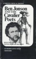 Cover of: Ben Jonson and the cavalier poets | Maclean, Hugh