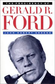 Cover of: The presidency of Gerald R. Ford