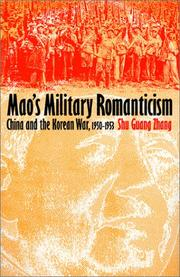 Cover of: Mao's military romanticism