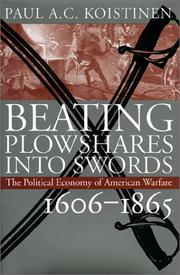 Cover of: Beating plowshares into swords
