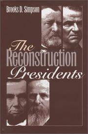 Cover of: The Reconstruction presidents