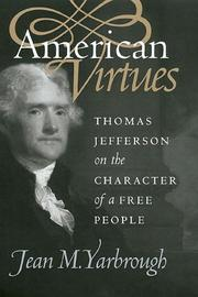 Cover of: American virtues