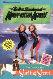 Cover of: New Adventures of Mary-Kate & Ashley #12: The Case Of The Surfing Secret | Ilse Wagner