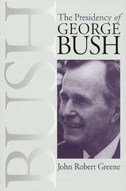 Cover of: The presidency of George Bush