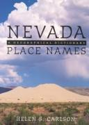 Cover of: Nevada Place Names