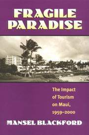 Cover of: Fragile paradise