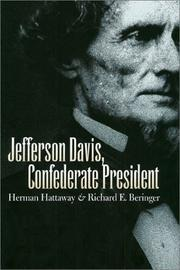 Cover of: Jefferson Davis, Confederate president