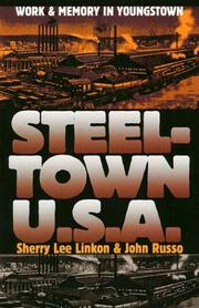 Cover of: Steeltown USA: Work and Memory in Youngstown (Cultureamerica)