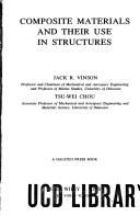 Cover of: Composite materials and their use in structures