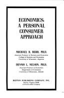 Cover of: Economics, a personal consumer approach