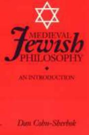 Cover of: Medieval Jewish Philosophy