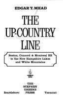 Cover of: The up-country line | Edgar Thorn Mead