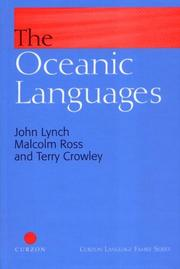 Cover of: Oceanic Languages (Curzon Language Family)
