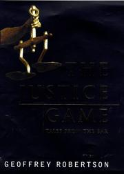 Cover of: The justice game