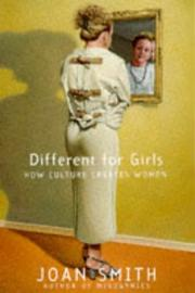 Cover of: DIFFERENT FOR GIRLS | Joan Smith