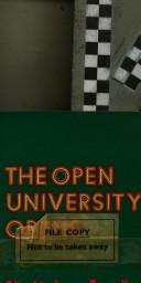 Cover of: The Open University opens
