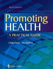 Cover of: Promoting Health | Linda Ewles