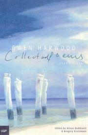 Cover of: Collected poems, 1943-1995 | Gwen Harwood